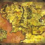 mapa sródziemia