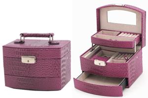 kuferek szkatułka na biżuterię